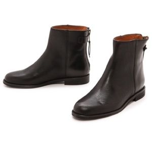 Madewell black leather Hayes boots 8.5